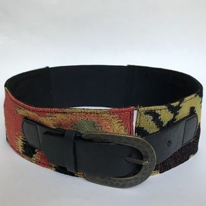 Anthropologie Hyde Collection Wide Belt Size Small